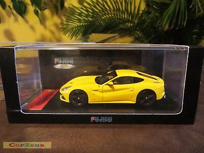 1:43 TSM Fujimi, 2013 Ferrari F12 Berlinetta, Modena Yellow