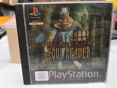 Legacy Of Kain: Soul Reaver - PS1 (Playstation 1) (PAL) Holographic Front Cover