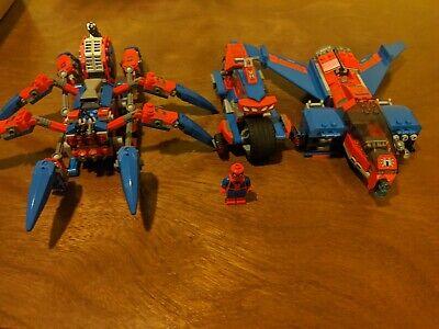 LEGO Spider-Man Vehicles Lot 76150 76148, 76114