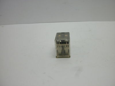 Omron Ly2-ac100 General Purpose Relay 10 Amp 8-blade Dpdt Coil