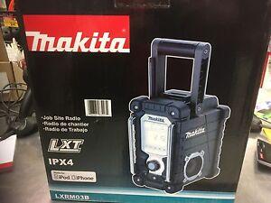 Makita Job Site Radio LXRM03B 18 Volt LXT