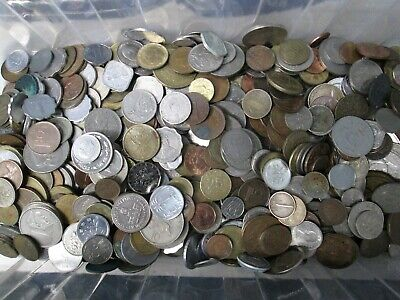 5 Pound Lot of Mixed Foreign International Coins 5lb Bag Mint 5 Pound Bag