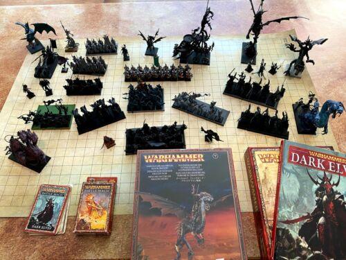 Warhammer Fantasy/Age of Sigmar Near Complete Dark Elf
