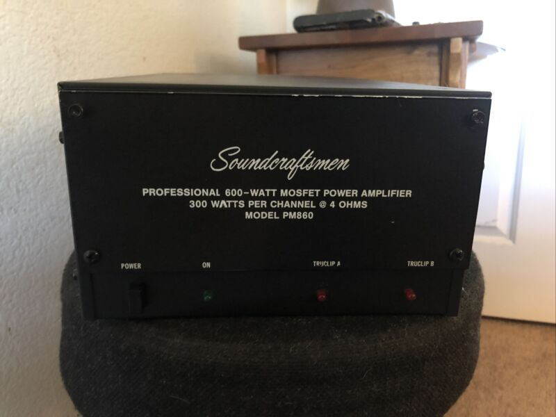 Vintage Soundcraftsmen Model PM860 Stereo Amplifier