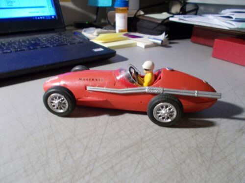 1959 STROMBECKER MASERATI ELECTRIC RACING CAR 1:24 ASSEMBLED UNTESTED USED