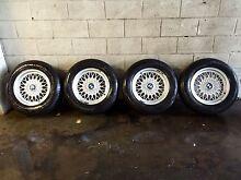 Bmw e28/e30/e34/m3 15 inch bbs wheels and Goodyear near new tyres Berwick Casey Area Preview