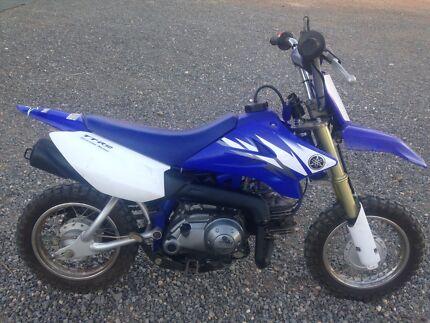 Ttr 50 Yamaha motorbike