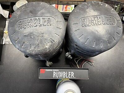 Federal Signal Rumbler 2 Low Frequency Speaker System
