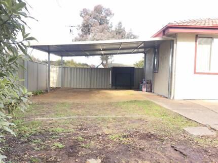 flat carport  6   x  6      $  1680