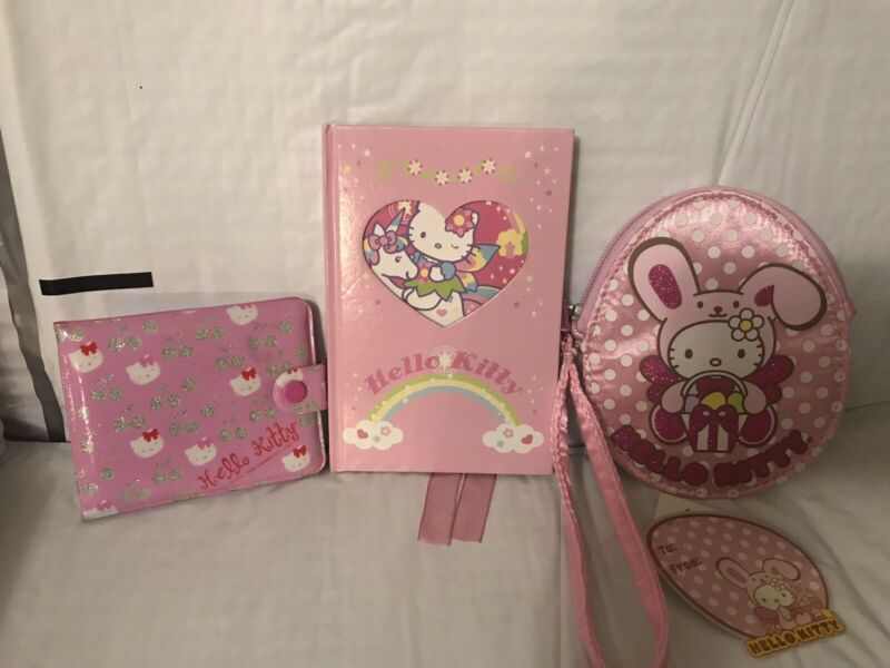 hello kitty wallet And Notebook