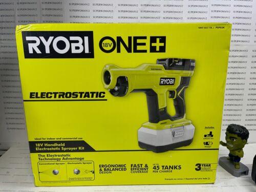 RYOBI ONE+18V Cordless Handheld Electrostatic Sprayer Kit PSP02K