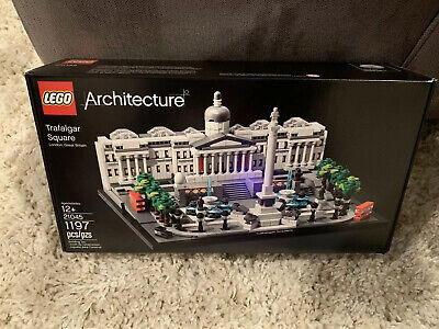 LEGO Architecture 21045 Trafalgar Square BRAND NEW Sealed! In Hand FREE SHIPPING