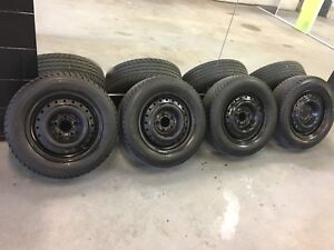 195/65/R15 Steel Wheels with Winter Tires