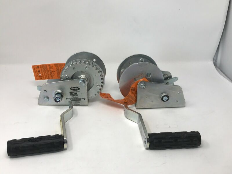 Lot Of Two - Shelly industries Hoist winch 5404 1200 lbs - Brand New! Ships Free