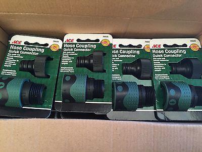 Hose Coupling Quick Connector - (12) Ace Hose Coupling Quick Connector Kit Sprinklers Nozzles Spigots 76935