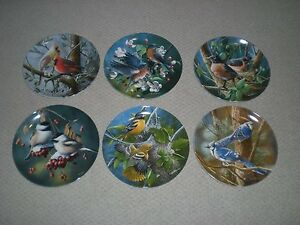 Knowles Collectable Bird Plates Kingston Kingston Area image 1