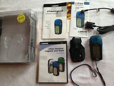 Garmin eTrex Legend Adventure Pack GPS Personal Navigator WAAS, DVD, Bundle