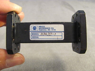 Waveguide Neico Micro. Wr-75 10.0 - 15.0 Ghz Straight 3.00 Cprg X Cprg 113