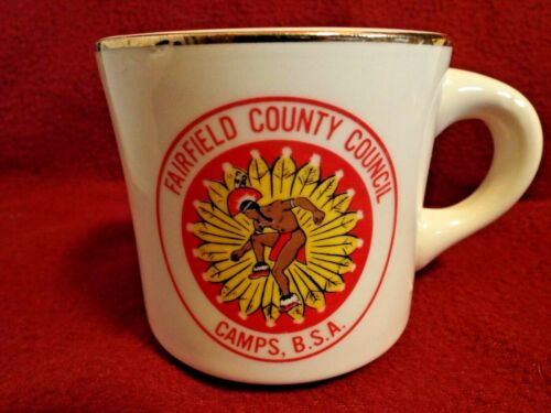 FAIRFIELD COUNTY COUNCIL CAMPS - Boy Scouts of America Coffee Mug Cup