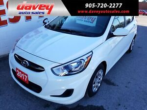 2017 Hyundai Accent GL HEATED SEATS, BLUETOOTH, CD PLAYER