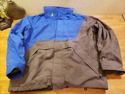 VOLCOM Ski Snowboard NIMBUS Winter Jacket Blue Large Men's VGC