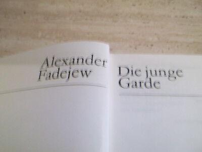 Buch aus DDR- Zeiten ´`Die junge Garde`´
