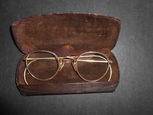 Vintage Bausch & Lomb 1/10-12K Gold Filled Eyeglasses With Loxit Nose Pad