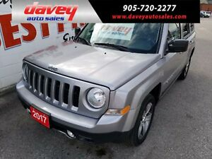 2017 Jeep Patriot Sport/North 4X4, SUNROOF, LEATHER, BLUETOOTH