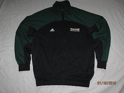 Tiffin Dragons Mens Volleyball Track Jacket Coat Mens Large Warm Up NCAA Adidas