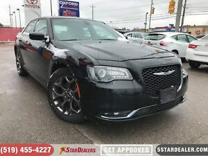 2017 Chrysler 300 S | LEATHER | CAM | ONE OWNER | AWD