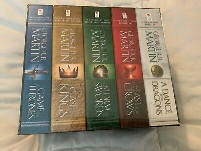 George R. R. Martin's A Game of Thrones 5-Book Boxed Set (Song of Ice and Fire)