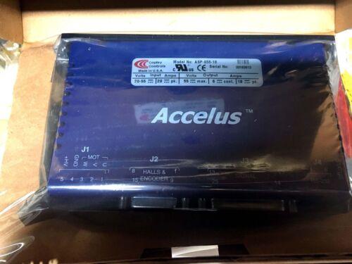 Copley Controls Accelus Model No. ASP-055-18 Servo Drive New