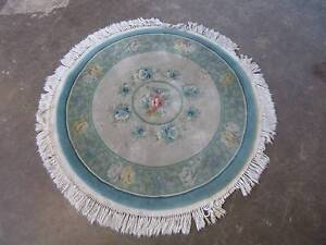 D20068 Lovely Round Plush Floral Floor Rug Mount Barker Mount Barker Area Preview