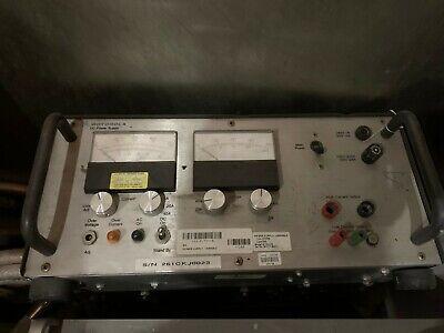 Motorola Dc Power Supply R-1011b Dual Analog Meter