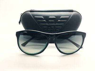 Emporio Armani Sunglasses For Women EA9801S Made In Italy Authentic + Case