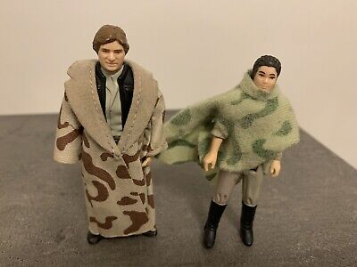 VINTAGE STAR WARS - HAN SOLO ( TRENCH COAT) PRINCESS LEIA PONCHO