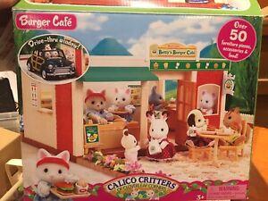 Calico Critter Burger Cafe