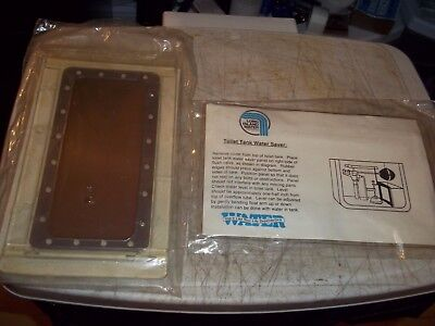 NOS BNIP LONG ISLAND WATER CORP TOILET TANK WATER SAVER FILTER FOR YOUR TANK