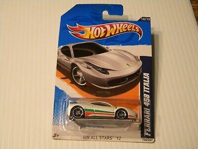Hot Wheels Ferrari 458 Italia Factory Sealed