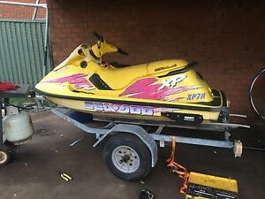 Sea doo jet ski 800 cc twin carby got trailer St Andrews Campbelltown Area Preview