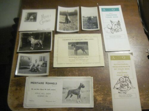 Collection of Bull Dog Pictures & Related Papers, Guessing From the PA. Area