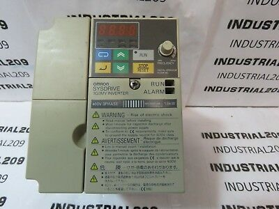 Omron Sysdrive 3g3mv-c4015 Invertor Used