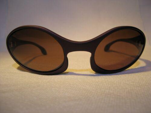 Suncloud Rose Funk Sunglasses Rare Purple Rose Lens Italy Frame 1990s Vintage