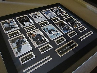 Legendary Art San Jose Sharks Greats Framed w/ FREE Shipping