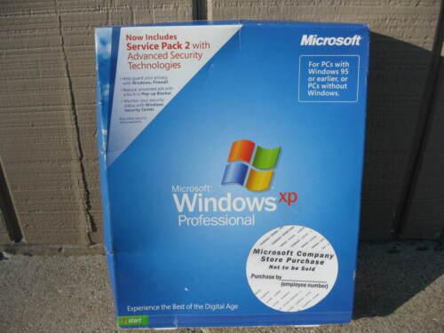 Microsoft Windows XP Professional 2002 w/Product Key + Service Pack 2 Exc Cnd