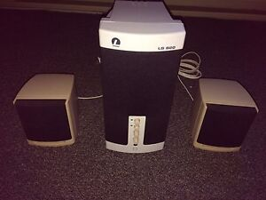 Lexpro Speakers and Subwoofer
