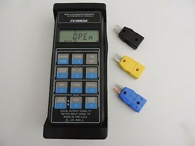 Omega Cl25 Precision Temperature Calibration Meter