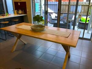 New for 2019, compact dining/kitchen table, all wood