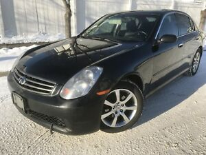 AWD Infiniti G35X Remote start,heated seats,leather.