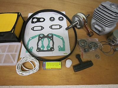 Husqvarna K760 Version Ii Overhaul Kit W Nikasil Cylinder Oem Crank Filters